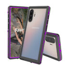 Waterproof Rugged PC Clear Bumper Slim Hard Case Cover For Samsung Note 10 Plus