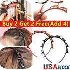 4pc Double Bangs Hairstyle Hair Clips Bangs Hair Band Hairpin Headband With Clip