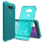 CBUS Flex-Gel Silicone TPU Phone Case for LG Aristo 5 - Green, Turquoise, Purple
