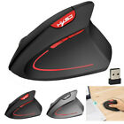 Wireless Mouse 2.4GHz Game Ergonomic Design Vertical Mouse 2400DPI USB Mice
