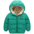 Kids Toddlers Boys Gril Winter Warm Hoodie Jacket Outerwear Down Coat Clothes
