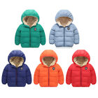 Kyпить Kids Toddlers Boys Gril Winter Warm Hoodie Jacket Outerwear Down Coat Clothes на еВаy.соm