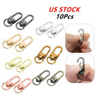 10Pcs Swivel Clasps Metal Trigger Hook Lanyards Buckle for Backpack Ornaments US