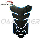Motorcycle Fuel/Gas Tank Pad Fairing Guard Protector Decal Sticker Grip Chrome