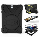 "Shockproof Hybrid Rubber Armor Case Cover for Samsung Galaxy Tab S2 / S3 8"" 9.7"""