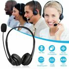 Mpow USB Computer PC Headset Headphones Call Centrer Noise Cancelling Microphone