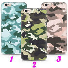 CAMO 1 MILITARY CAMOUFLAGE ARMY Case Cover iPhone 5 SE 2 6 7 8 X s MAX plus XR