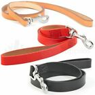 Ancol Heritage Leather Dog Lead Classic Tan, Black or Red 1m x 12mm, 19mm, 25mm