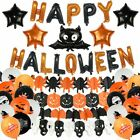 Halloween Balloon Garland Arch Kit Helium Balloons foil Set for Halloween Day US