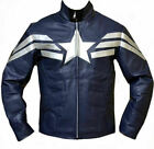 Halloween 50% OFF Captain America Avenger 5 Artificial Leather Jacket