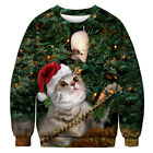Couples Ugly Sweater Jumper Christmas Funny Womens Mens Xmas Pullover Sweatshirt