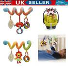 'Baby Crib Cot Pram Hanging Rattles Spiral Stroller Car Seat Pushchair Toy Decor