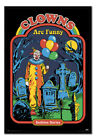 FRAMED Steven Rhodes Clowns Are Funny Poster Official Licensed 26x38""