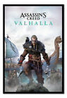 FRAMED Assassins Creed Valhalla Poster Official Licensed 26x38"