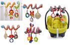 'Baby Activity Spiral Hanging Toy Pushchair Pram Stroller Bedding Car Seat New..