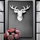 Home Decoration Accessories 3d Deer Statue Sculpture Wall Decor Animal Figurine