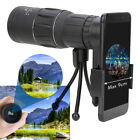 Outdoor 16X52 Single HD Monocular Phone Camera Lens Telescope Day & Night Vision