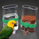 Pet Bird Acrylic Automatic Cage Water Food Feeder Parrot Cockatiel Canary Good