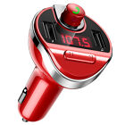 Car V3.0 FM Transmitter Wireless Bluetooth MP3 Player Radio Adapter USB Charger