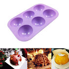 3d Half Ball Silicone Chocolate Mold Sphere Cupcake Cake Mould Baking Tool