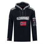 Sweat-Shirt GEOGRAPHICAL NORWAY Gym Class Sherpa En Polaire Hommes Tascone Capot