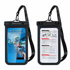 Swimming Waterproof IPX8 Underwater Pouch Bag Pack Dry Case Cover for Cell Phone