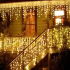 Christmas Lights Outdoor Decoration 5m Droop 0.4-0.6m Led Curtain Icicle String