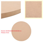MDF Table Top Round Replacement Parts Kitchen Dining Table Coffee Table Beige