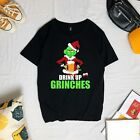 Drink Up Grinches Funny Christmas t Shirt, Unisex Tee