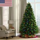 2.1M/7ft Artificial 1400Branchs Christmas Tree Holiday Festival Decor Gift US
