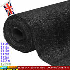 'Artificial Grass Black Fake Lifelike Realistic Garden Outdoor Turf Fake Lawn
