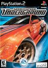 Need for Speed: Underground Sony PS2 Black Label w/manual