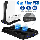 Vertical Stand Cooling Fan Charging Station USB Hub for Sony PS5 UHD/DE Console