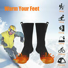 Electric Heated Socks Battery Rechargeable For Men Women Winter Warm Foot Warmer