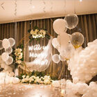 12'' Transparent Pearl Latex Thickening Wedding Party Birthday Balloons 10/20pcs