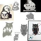 Owl Animal Metal cutting Dies Scrapbook paper craft mould blade punch stencils