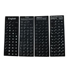 Various Languages Laptop Computer Keyboard Layout Stickers Helpful Gift