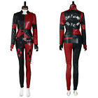 The Suicide Squad Harley Quinn Cosplay Costume Vest Pants Outfits Suit Halloween