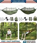 Double Person Travel Outdoor Hammock Camping Swing Hanging Bed W/Mosquito Net SH