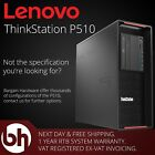 Lenovo ThinkStation P510 Xeon V4 3.60GHz Sixteen 16 Core 256GB DDR4 Workstation