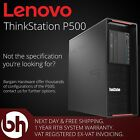 Lenovo ThinkStation P500 CAD Workstation Xeon E5 V3 3.70GHz / 10 Core 64GB DDR4