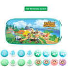Animal Crossing Carrying Case for Nintendo Switch Storage Bag 4PCS Thumb Caps