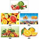 Waterproof Anti Oil Wall Stickers Wall Paper Removable Tile Home Kitchen  Decor