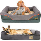 Contour-balanced Support Orthopaedic Dog Bed Pet Calming Sofa Basket Therapeutic