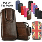 'Pull Up Tab Pouch Sleeve Leather Case Cover For Ipod Touch 4th 5th 6th 7th Gen