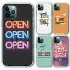 For Iphone 12, 12 Pro Silicone Case Cover Text Group 9