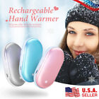 2 Pack Rechargeable Reusable Hand Warmers Power Bank Quick Heating