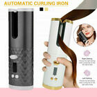 Auto Rotating Hair Curler Cordless Waver Curling Iron Styling Salon LCD PP