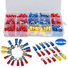 102/280/300x Insulated Assorted Electrical Wiring Connectors Crimp Terminals Set