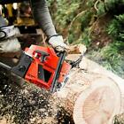 20 Inch Guide Board Chainsaw Gasoline Powered Handheld Chain Saw 58CC US 01